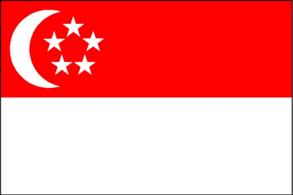 Image result for bendera singapore png
